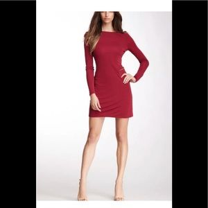 ABS Allen Schwartz dress BNWT crimson